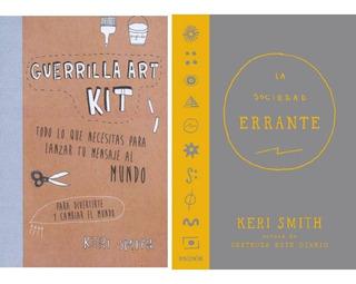 Sociedad Errante + Guerrilla Art Kit (destroza Este Diario)