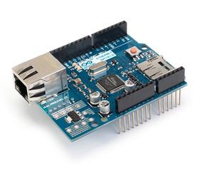 Arduino Ethernet Shield W5100 Com Slot Para Sd Card
