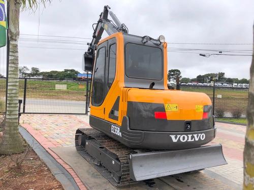 Mini-escavadeira Volvo  Ec55b  2014=sx16 Yanmar Bodcat