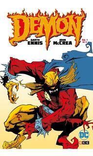 Demon De Garth Ennis (2 Tomos) - Dc Ecc Comics - Robot Negro