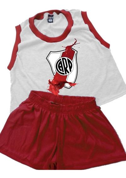 Pijama De Mujer River Plate