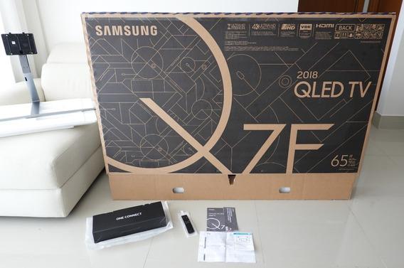Smart Tv Qled 65 Q7 Samsung Qn65q7fn 4k + Suporte No Gap