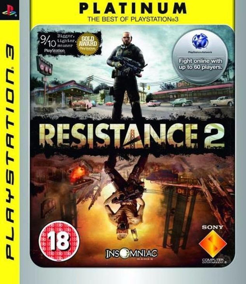 Resistance 2 Platinum Ps3 Midia Fisica Novo Lacrado Original