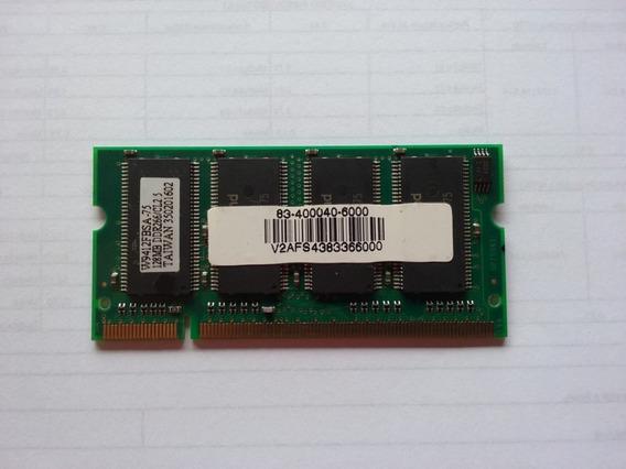 Memoria Notebook 128mb Ddr266 Cl2.5 - 38077