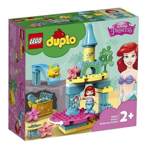 Imagem 1 de 2 de Lego Disney Princess O Castelo Fundo Do Mar Da Ariel 10922