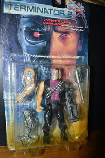 Terminator Figura Accion Kenner Power Arm Juguete Antiguo