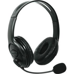 Fone De Ouvido Com Microfone Headphone P/xbox360 Preto