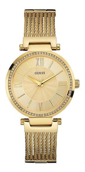Relógio Guess Feminino Dourado 92580lpgdda2 W0638l2