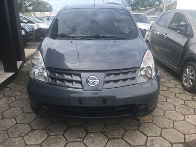 Sucata Nissan Livina 1.6 Flex 2010 Retirada De Peças