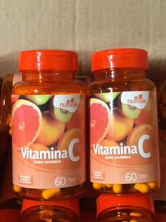 Vitamina C Combo 2 Pote Com 60 Cápsula