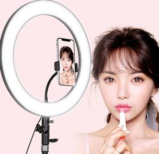 Lampara Aro Led 36 Cm ( 14 Pulgadas) Maquillaje Nueva Bellez