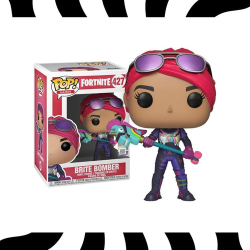 Funko Pop! Brite Bomber - Pop! Games Fortnite #427 Kemu
