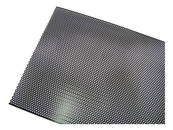 3 Telas Perfurada Caixa Acústica Profissional 1,20x0,52 Mts