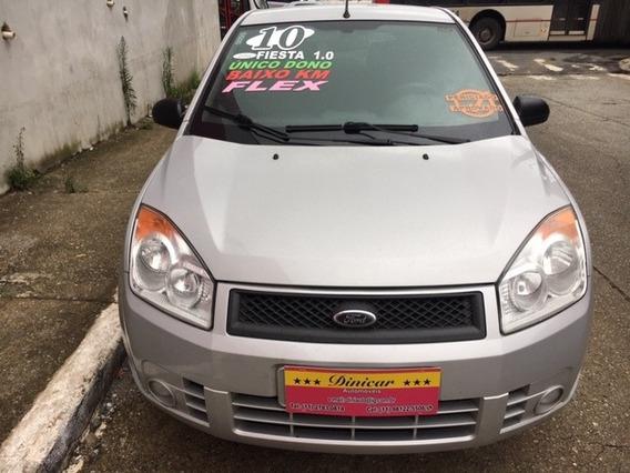 Fiesta 1.0 - Hatch - 2010 - Prata - Flex