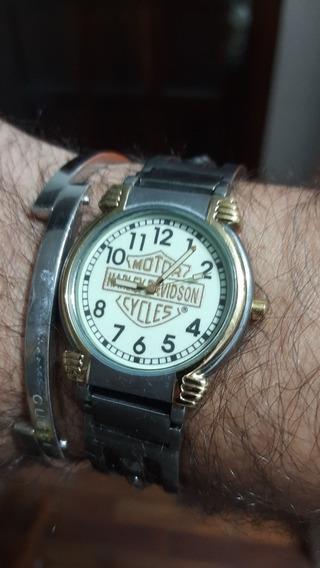 Bulova Bracelete Harley Davdson Colecao Promoção R$ 499