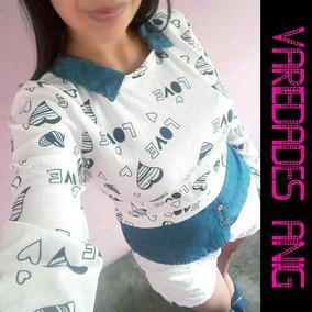 227a5f7e70 Blusas De Moda Elegantes - Blusas de Mujer en Mercado Libre Venezuela