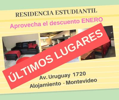 Residencia Estudiantil - Alojamiento En Montevideo