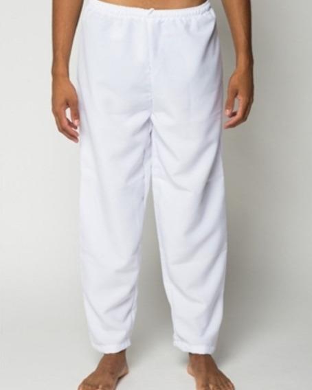 Calças Brancas De Ração Do M Ao Gg