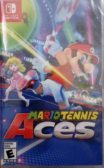 Mario Tennis Aces Nintendo Switch Novo Lacrado Pronta Entreg