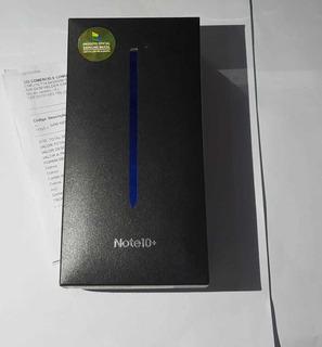 Samsung Note 10+ Plus 256gb Prata - Tela Trincada,touch Ruim