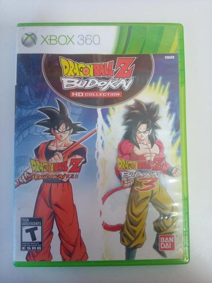Dragon Ball Z Budokai Hd Collection Xbox 360 Orig Em Dvd