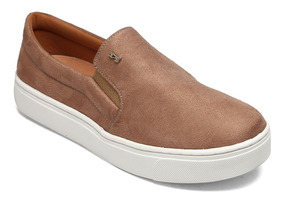 Slip On Santa Lolla Suede Baked 01ac.11e4.0048.0157