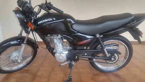 Honda Cg Fan 2006 Preta Novissima