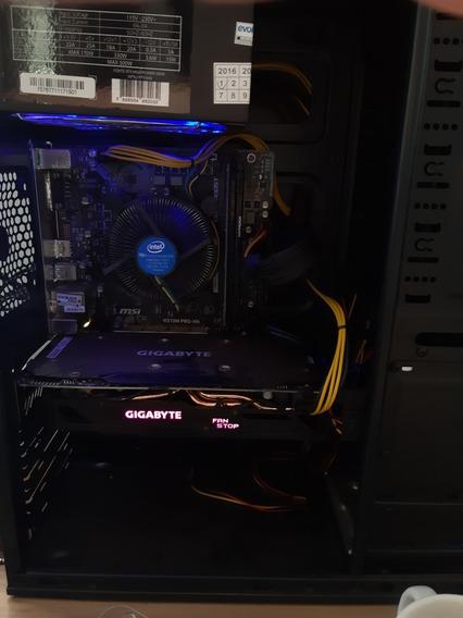 Desktop Gamer - 16gb Ram, I7 8700, Rx 570 - 8gb, Ssd