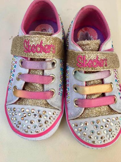 Zapatos Skechers Originales Twinkle Toes Niña