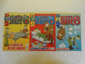 Recruta Zero Nºs 1 A 3! Editora Mythos 2006!