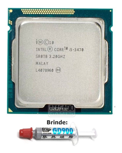 Imagem 1 de 1 de Processador Intel Core I5-3470  De 4 Núcleos E 3.2ghz