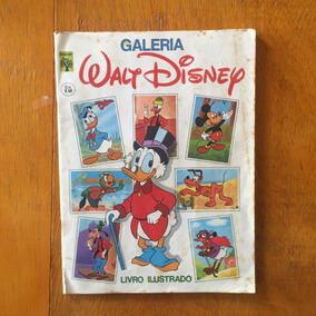 Album De Figurinhas Galeria-walt Disney Abril 1976 Completo