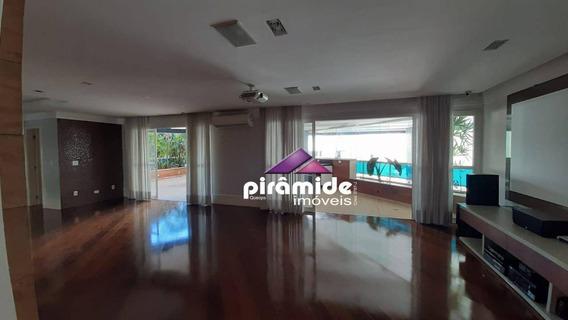 Apartamento Com 4 Dormitórios À Venda, 337 M² Por R$ 2.200.000 E Locação R$10.000 (incluído Condomínio) - Vila Adyana - São José Dos Campos/sp - Ap0140