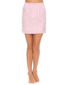 Moda Mujer Mini Cintura Elástica Satinado Bajo Faldas Lfcn