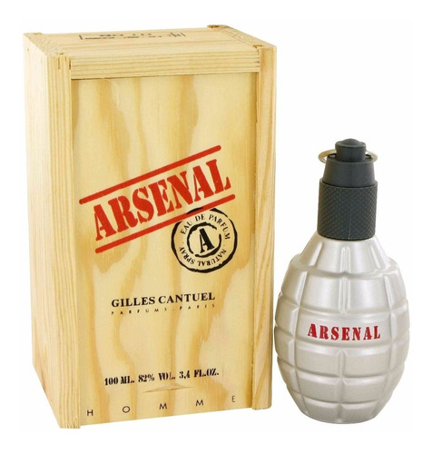Perfume Original Guilles Caintel Arsena - mL a $799