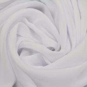 Tecido Voal Branco Liso 10m + 10m Entretele + 50 Ilhós
