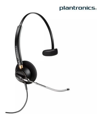 Headset Plantronics Poly Hw510v  89435-01 S/adaptador Qd