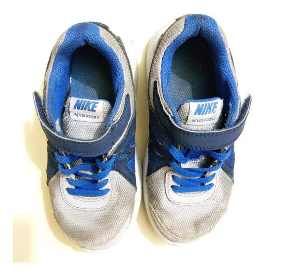Zapatos Deportivos Nike Talla 28 Para Niños