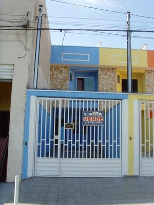 Sobrado Residencial À Venda, São Mateus, São Paulo. - So9180