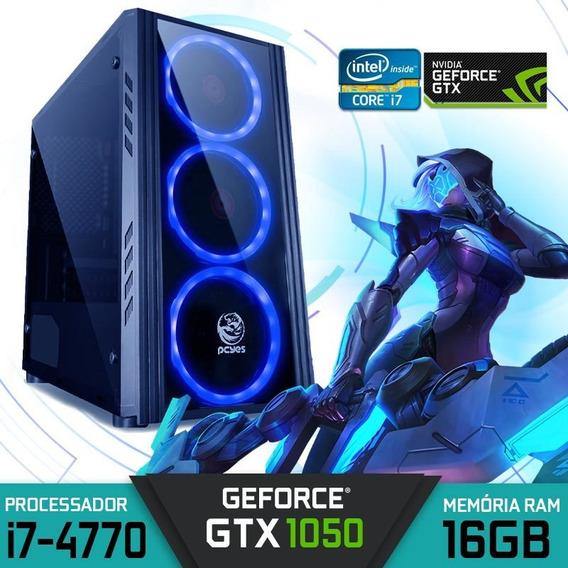 Computador Gamer Intel Core I7-4770 Ram 16gb Gtx 1050 2gb