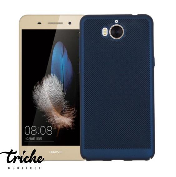 Funda Case Slim Elegante Puntos Colores Huawei Y5 Pro
