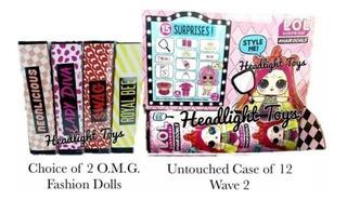 Lol Surprise Omg 2 Fashion Dolls + Case Box 12 Hairgoals Pr