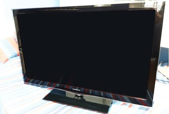 Tv Samsung Lcd 46 - Defeito Ler Descrição -somente Retirada