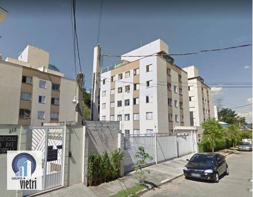 Cobertura Com 2 Dormitórios, 92 M² - Venda Por R$ 480.000,00 Ou Aluguel Por R$ 1.600,00/mês - Vila Clarice - São Paulo/sp - Co0067