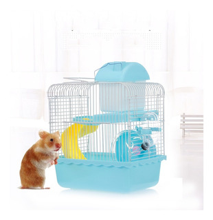 Hamster Cage Portador Porttil Hbitat De Hmster De Dos