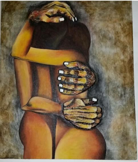 Pintura Abstracta Estilo Incaico