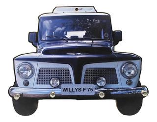 Porta Chaves Carros Veículos Jipe Antigos Placa Decoração