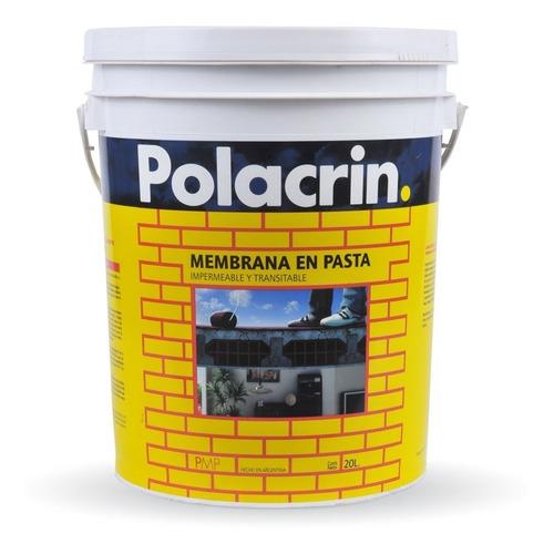 Membrana Liquida  En Pasta Polacrin  Premium  X 20 Litros