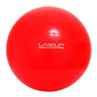 Bola Suíça 45cm Liveup - Vermelha