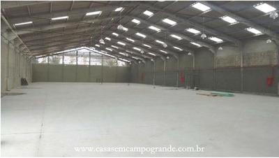 Campo Grande - Av. Brasil - Galpão Novo Com 1.750m2
